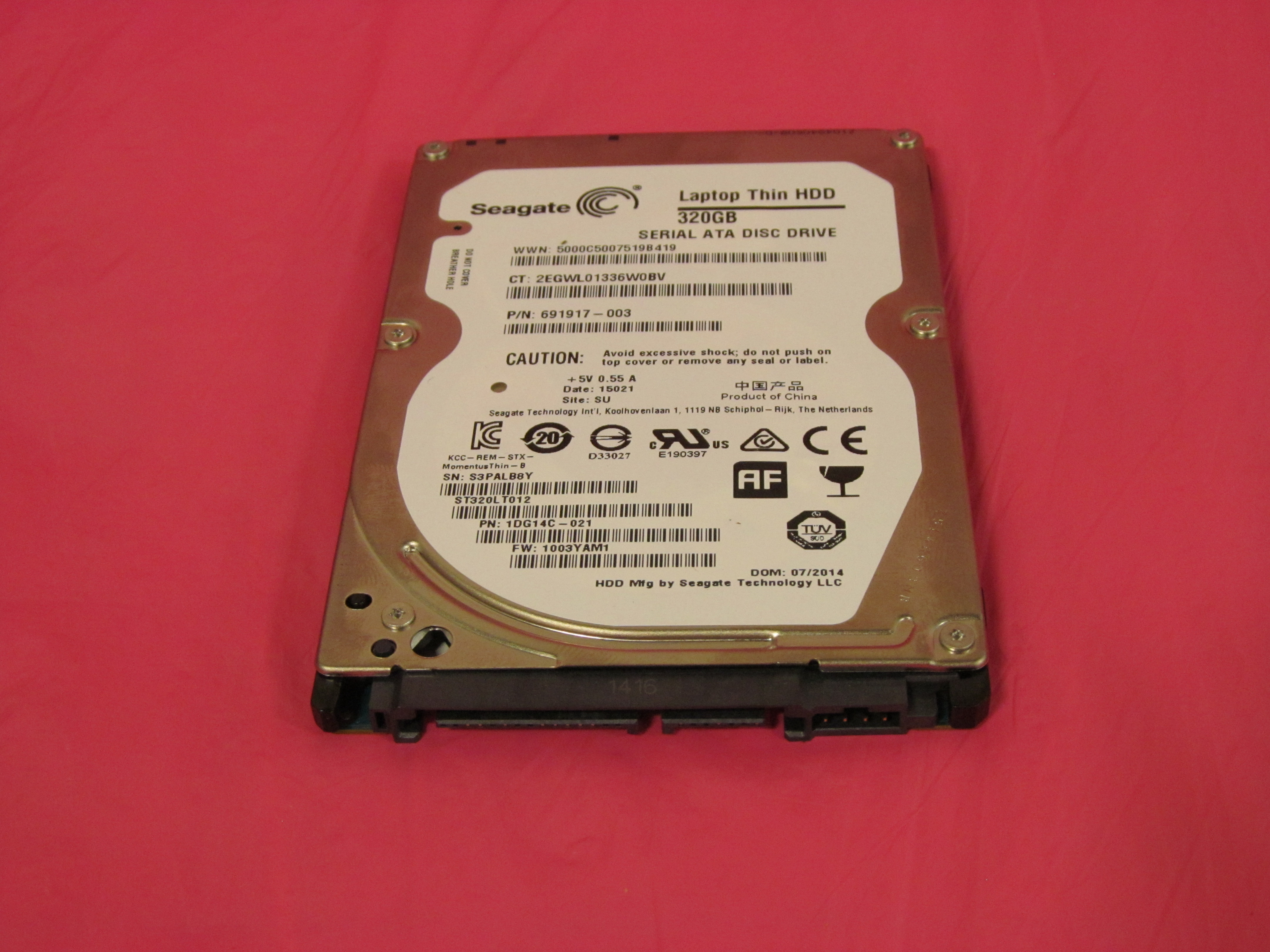 536611-B21 Compaq 1Tb 3Gb 7200Rpm 3.5Inch Mdl Hot Plug Hard Drive