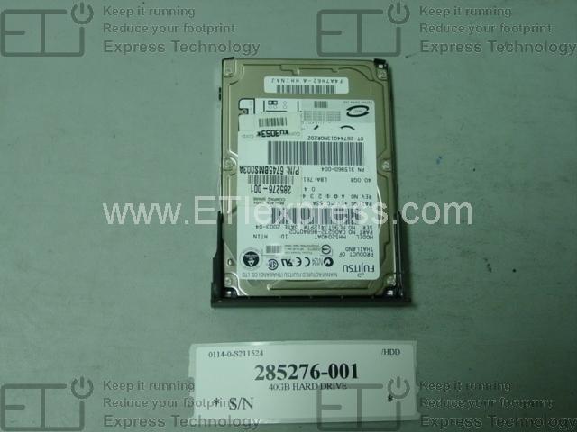 394916-001 Compaq 40Gb Ide 7200Rpm 3.5Inch Hard Drive